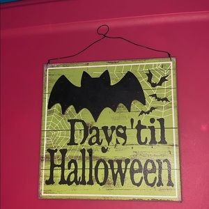 Other - Halloween sign